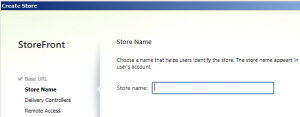 StoreFront_Store_Config