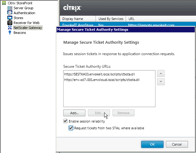 citrix cannot launch application session disconnect
