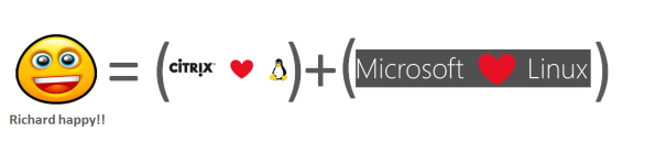 Richard_happy_when_Microsoft_and_Citrix_Loves_Linux